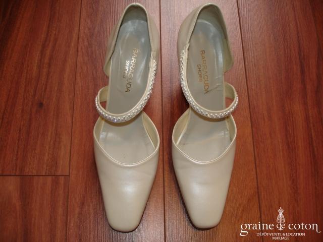 Barracuda Shoes - Escarpins (chaussures) ivoire nacré