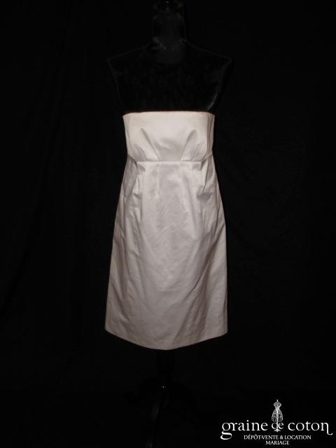 123 Collection Mariage - Clémentine (coton courte taille empire civile)