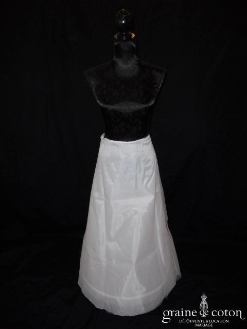 Jupon 5015 blanc ou ivoire avec 1 cerceau