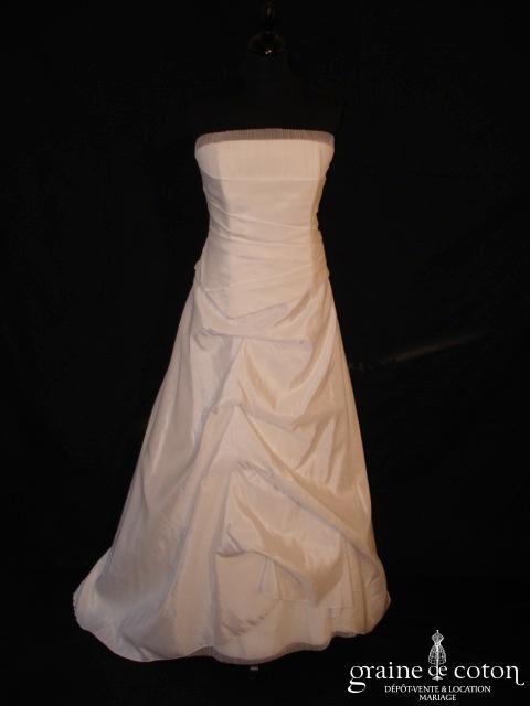 Eponyme (Lambert Créations) - Gracilia (doupion drapé tulle plissé laçage bustier)