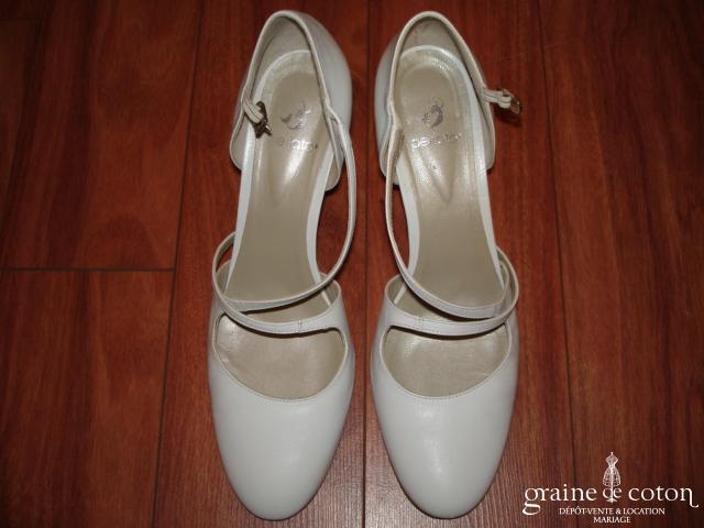 Perlato - Babies (chaussures) Venus en cuir blanc