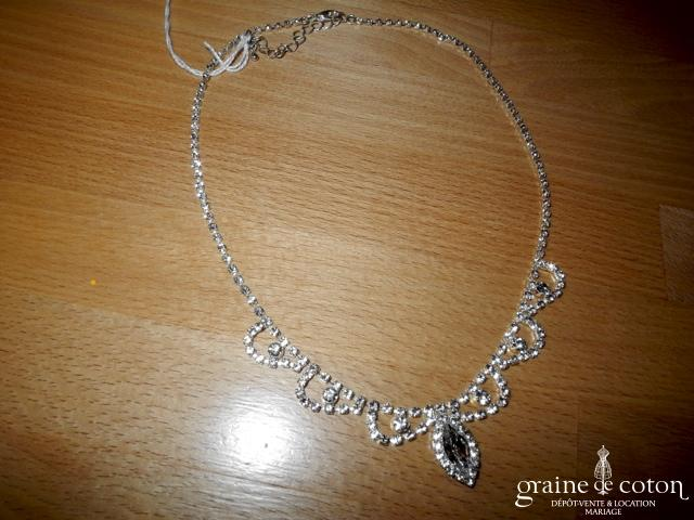 Tour de cou (collier) en strass