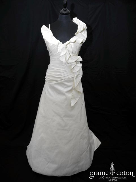 Lambert Créations - Chanterelle (taffetas drapé bretelles)