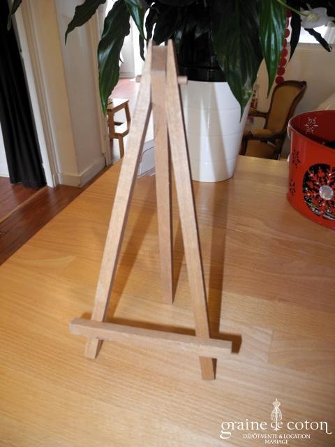 Cultura - Chevalet de table en bois