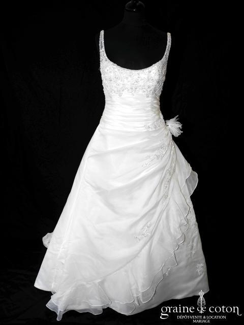 La Sposa (Pronovias) - Serenata (organza drapé bretelles)