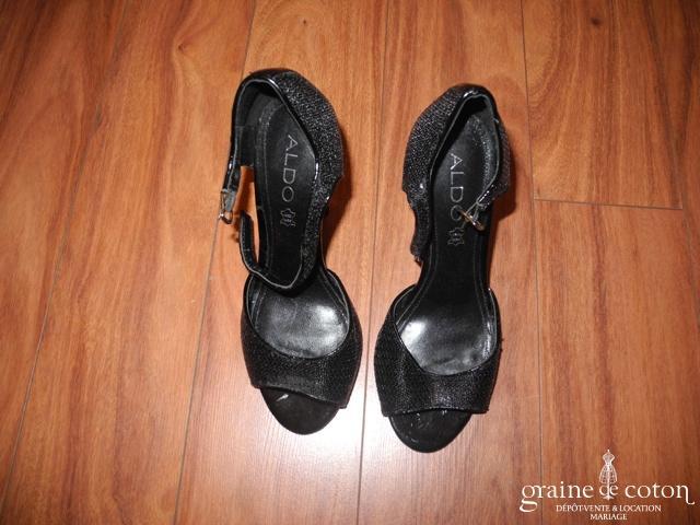 Aldo - Escarpins (chaussures) en pailettes noires