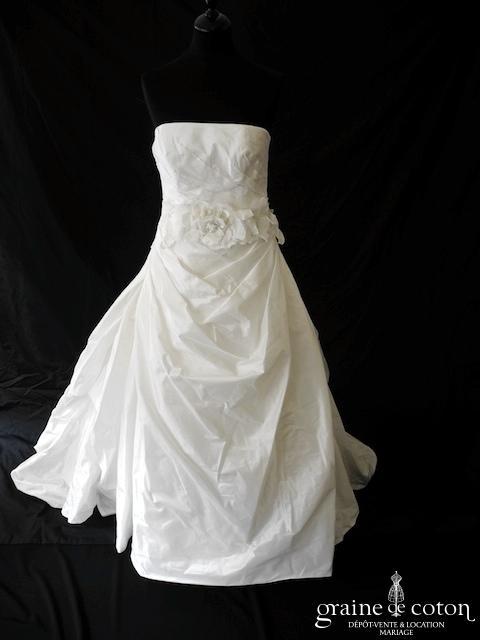 Marylise - Gabbana (taffetas drapé dos boutonné)