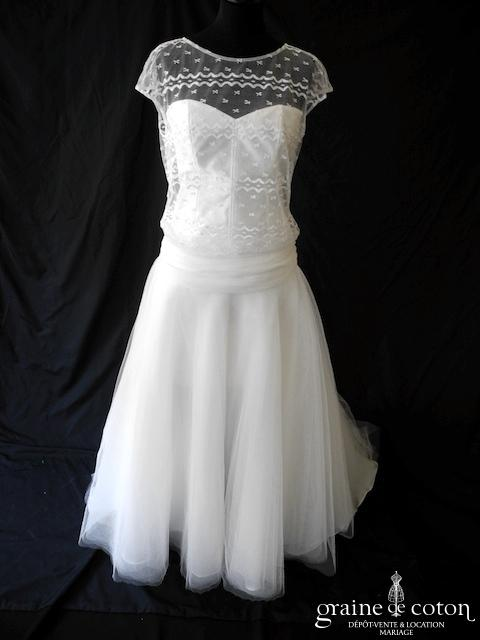 Robe de mariee annee 20 d'occasion