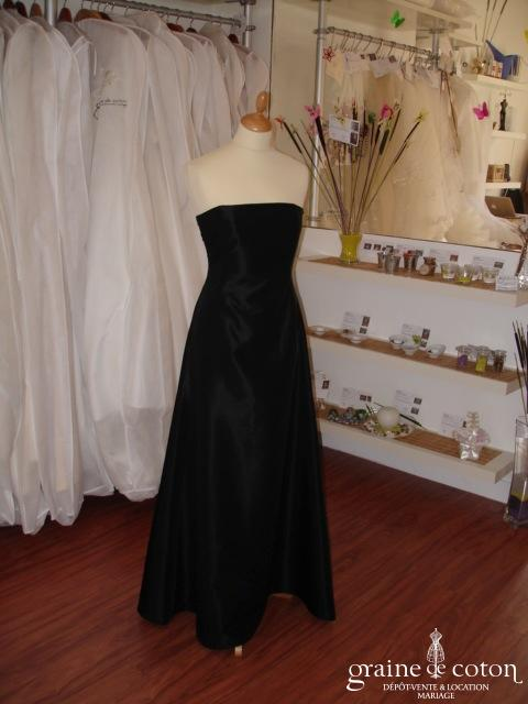 Zara - Robe de soirée longue satinée
