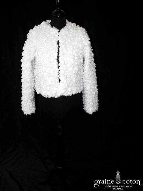 Avant Première (Galeries Lafayette) - Manteau moutonné ivoire