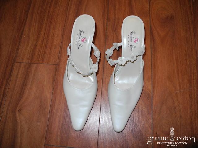 Prudence Macé pour Pronuptia - Escarpins (chaussures) ivoire nacré
