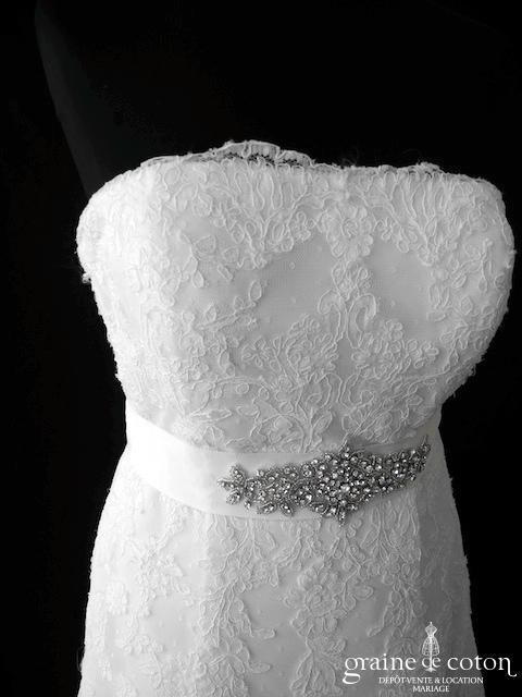 La Sposa pour Pronovias - Ceinture strass