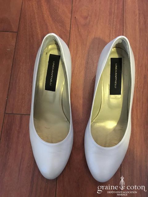 Linea Raffaelli - Escarpins (chaussures) en cuir ivoire
