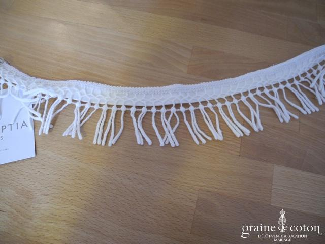 Pronuptia - Tour de cou ou headband en dentelle guipure (cheveux)