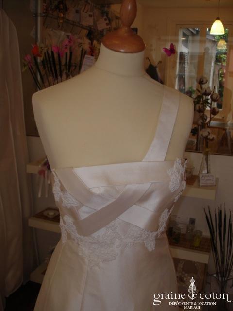 Mariées de Paris - Robe en soie ivoire