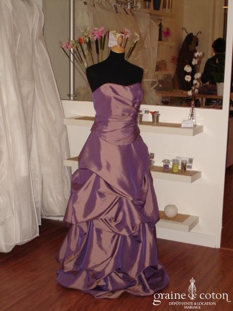 Fashion New York - Robe de soirée violette