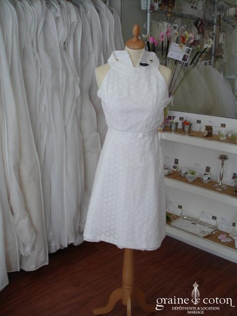 Tara Jarmon - Robe blanche en coton