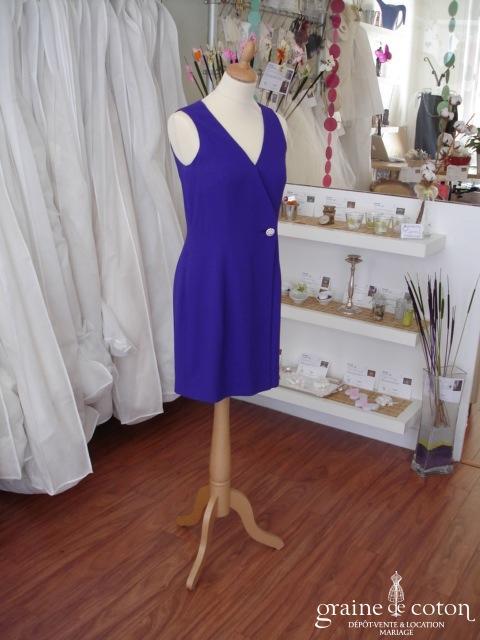 Kenar Petite - Robe violette (non stocké en boutique, essayage sur demande)