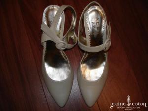 Adrien - Escarpins (chaussures) à lanières modèle Ross