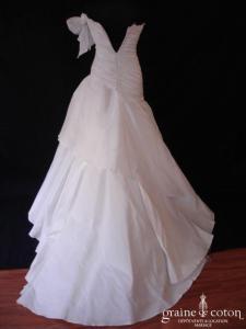 Mariées de Paris - Jalyis (manche taffetas drapé taille basse)