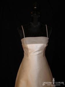 Mariées de Paris - Rivoli (empire mikado organza prototype)