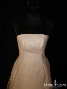 Biche de Bère - Robe blanche en intissé