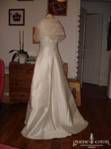 Cymbeline - Robe de mariée et son étole