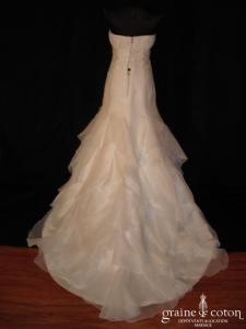 Pronovias - Dango (empire fourreau organza)