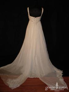 Pronovias - Regaliz (empire mousseline de soie)