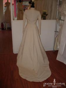 Manteau long assorti à la robe Cymbeline référence 130