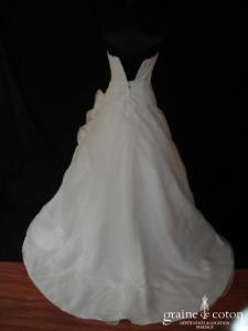 Lise Saint Germain pour Complicité - Ymir (plissé organza dentelle perles)