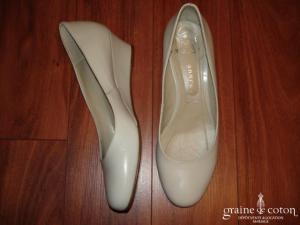 André - Escarpins (chaussures) Pergola ivoires