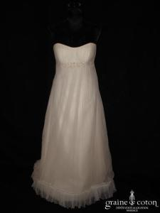 Pronovias - Denver (tulle plissé taille empire)