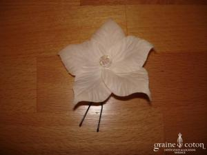 Pic à chignon fleur