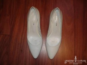 Jacques Benche - Escarpins (chaussures) blancs vernis