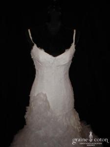 Cymbeline - Beyaz (tulle dentelle taille basse)