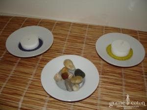 Petite coupelle en porcelaine blanche pour usage photophore ou vase