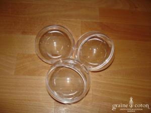 Boule en plastique transparent à remplir et à suspendre - 6 cm de diamètre