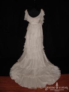 Mariées de Paris - Héléonore (mousseline fluide taille empire bretelles)