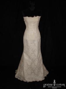Cymbeline - Robe une pièce en dentelle ivoire (sirène)