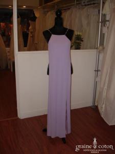 Robe parme - Orna Farho (non stocké en boutique, essayage sur demande)