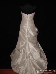 Linéa Raffaëlli - Set 45 (soie sauvage drapée noeud taille basse)