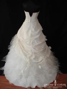 Églantine Créations - Bocage (taffetas plissé drapé mouchoirs tulle)