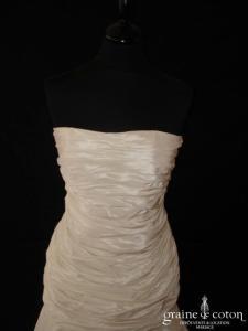 Cymbeline - Chérie (taille basse taffetas drapé courte ou longue fourreau)