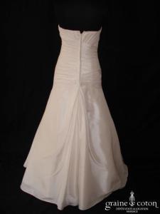 Les mariées d'Elodie - Gwenn (taffetas drapé taille basse)