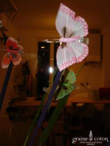 Arbre à papillon - Le papillon pince