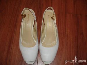 Laureana - Escarpins (chaussures) blancs