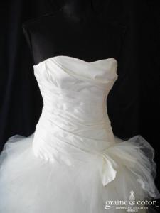 Cymbeline - Daylice (coeur taille basse taffetas de soie drapé mouchoirs tulle)