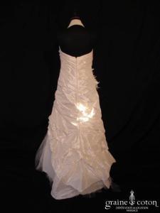 Linea Raffaëlli - Modèle 5980 (tour de cou taffetas drapé)