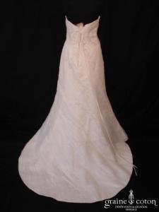 Mariées de Paris - Héralie (tulle drapé broderies sirène fourreau coeur laçage)
